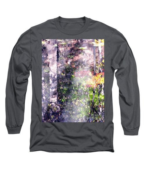Lady On Water Long Sleeve T-Shirt by Melissa Stoudt