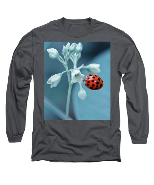 Ladybug Long Sleeve T-Shirt by Mark Fuller