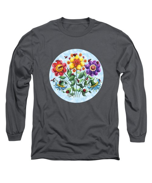 Ladybug Playground On A Summer Day Long Sleeve T-Shirt