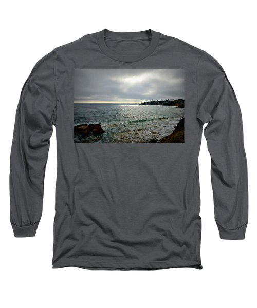 Laguna Beach Sunset Long Sleeve T-Shirt by Glenn McCarthy Art and Photography