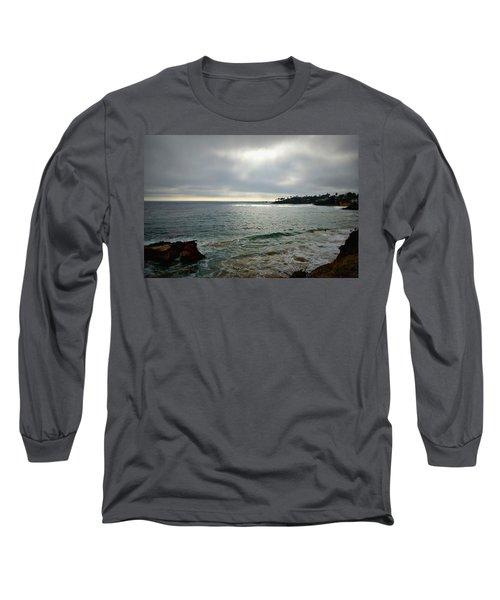Long Sleeve T-Shirt featuring the photograph Laguna Beach Sunset by Glenn McCarthy Art and Photography