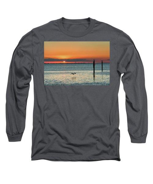 Laguna Vista Sunset Long Sleeve T-Shirt
