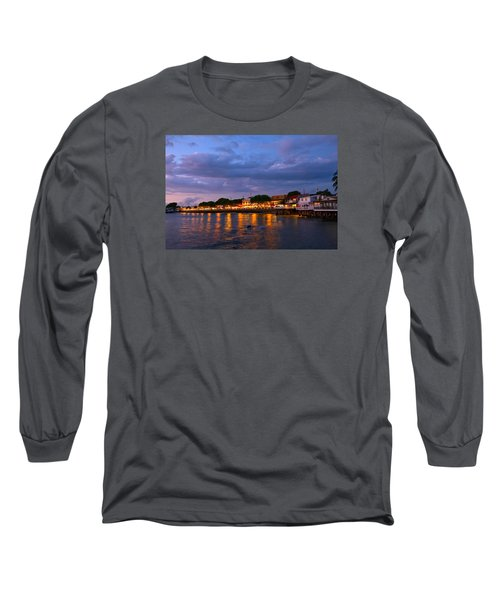 Lahaina Roadstead Long Sleeve T-Shirt by James Roemmling