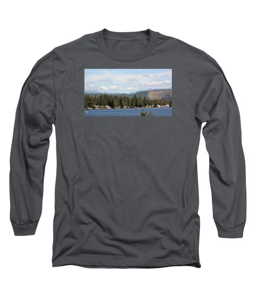 Lake And Mountains Long Sleeve T-Shirt