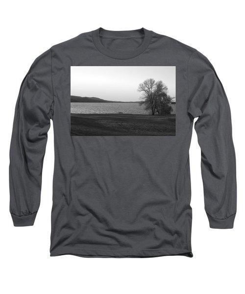 Lake Champlain Long Sleeve T-Shirt by Henri Irizarri