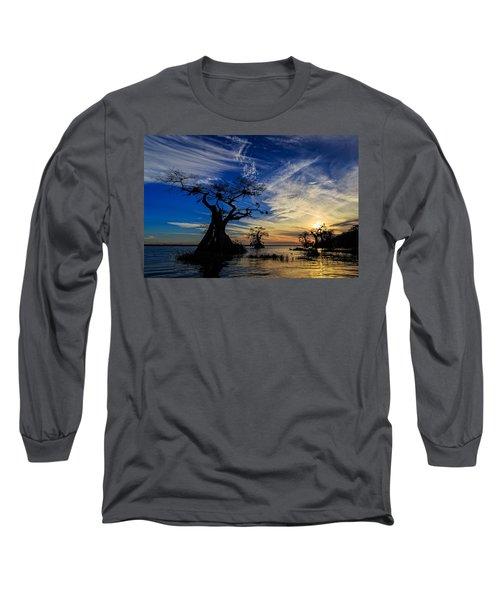 Lake Disston Sunset Long Sleeve T-Shirt
