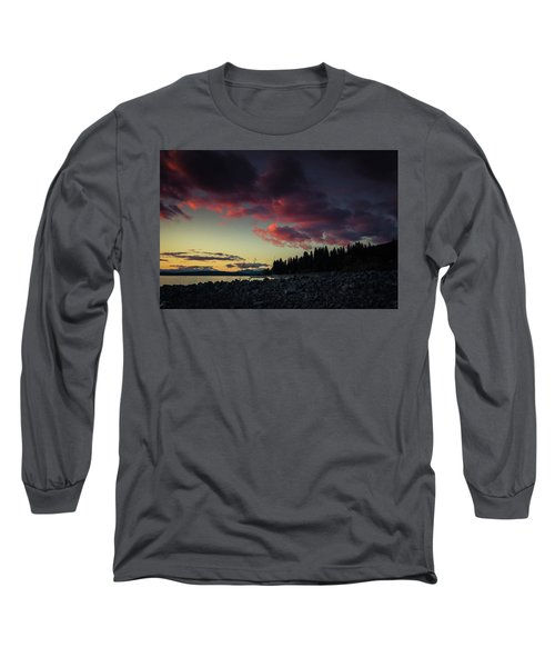 Long Sleeve T-Shirt featuring the photograph Lake Dreams by Jan Davies