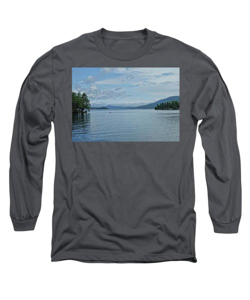 Lake George Kayaker Long Sleeve T-Shirt