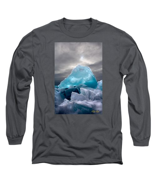 Lake Ice Berg Long Sleeve T-Shirt