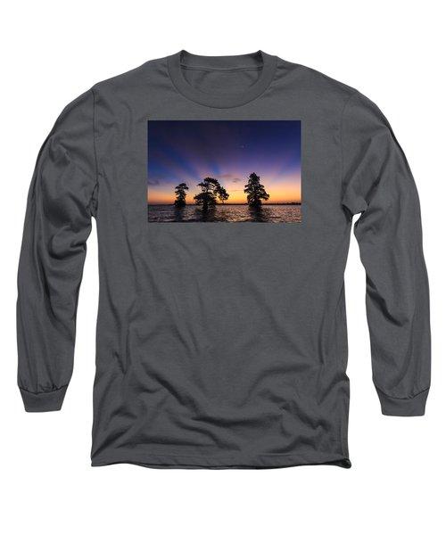 Lake Istokpoga Sunrise Long Sleeve T-Shirt