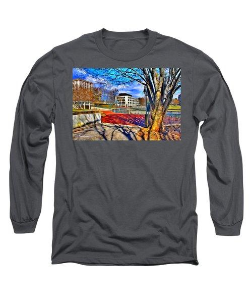 Lake Kittamaqundi Walkway Long Sleeve T-Shirt