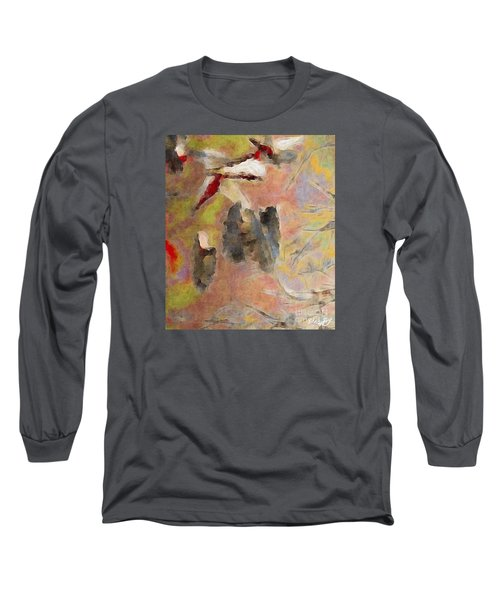 Long Sleeve T-Shirt featuring the photograph Lake Life by William Wyckoff