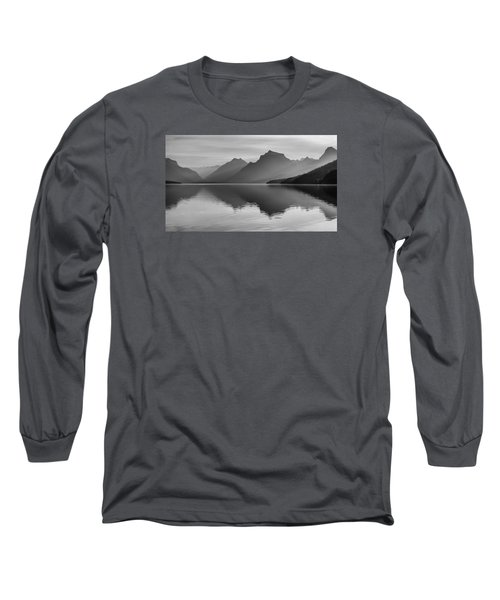 Lake Mcdonald Long Sleeve T-Shirt by Monte Stevens