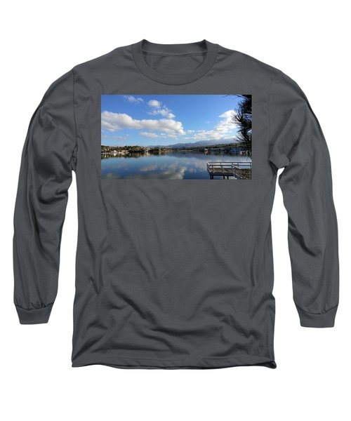 Lake Mission Viejo Cloud Reflections Long Sleeve T-Shirt