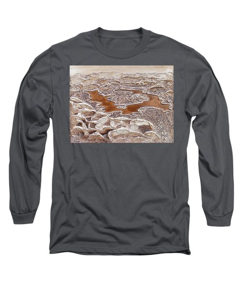 Lake Placid From Whiteface Mountain Long Sleeve T-Shirt