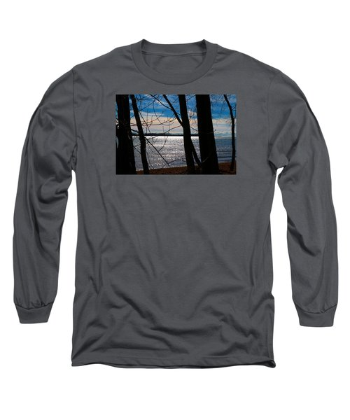 Long Sleeve T-Shirt featuring the photograph Lake Romance by Valentino Visentini