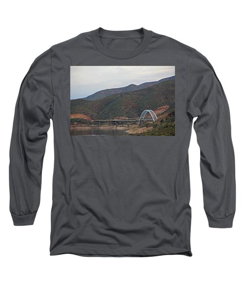 Lake Roosevelt Bridge 2 Long Sleeve T-Shirt