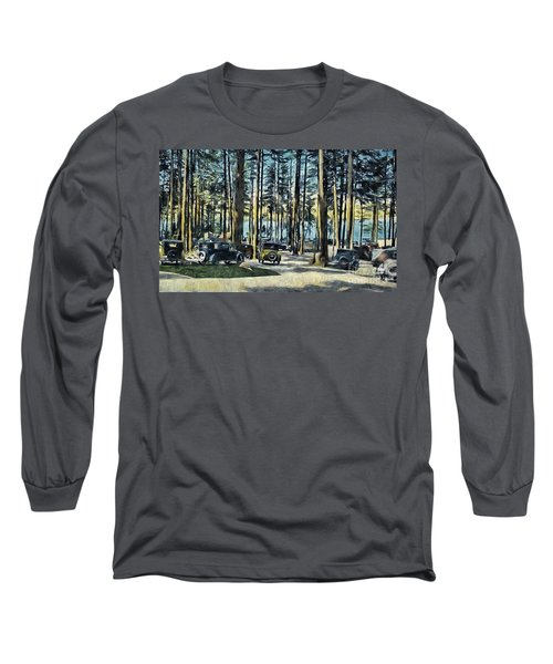 Lake Shore Park - Gilford N H Long Sleeve T-Shirt