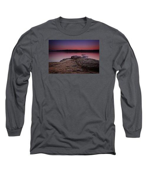 Lake Sunset Viii Long Sleeve T-Shirt