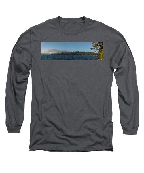 Lake Tahoe Panorama Long Sleeve T-Shirt