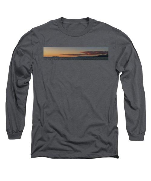 Lake Tahoe South Shore Panorama - 1 Long Sleeve T-Shirt