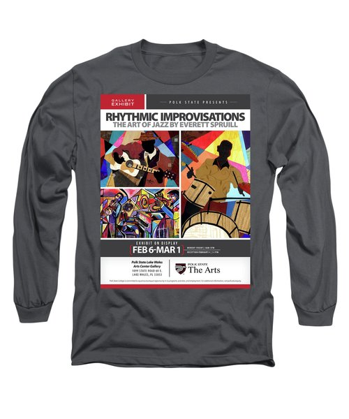 Rhythmic Improvisations - The Art Of Jazz Long Sleeve T-Shirt
