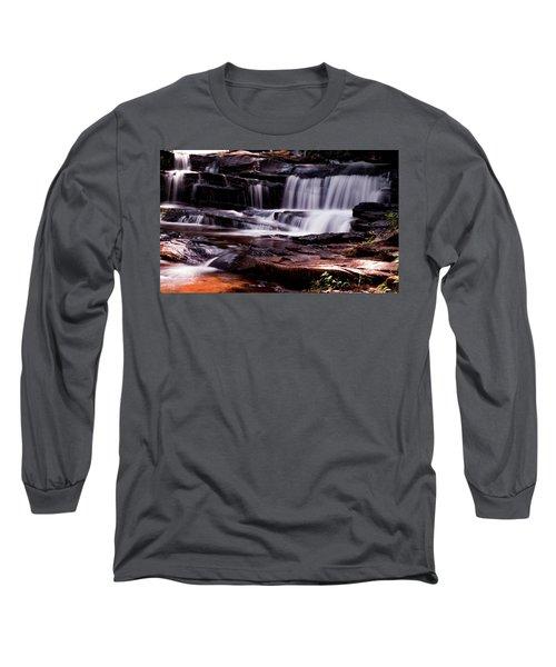 Lake Waterfall Long Sleeve T-Shirt