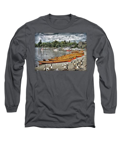 Long Sleeve T-Shirt featuring the photograph Lake Windamere by Walt Foegelle
