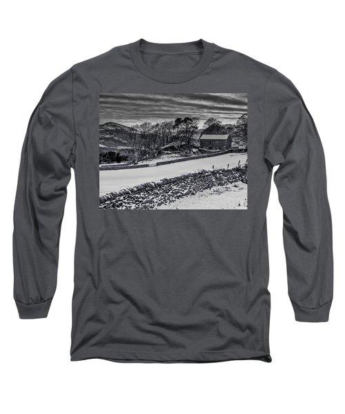 Lakeland Barn Long Sleeve T-Shirt by Keith Elliott