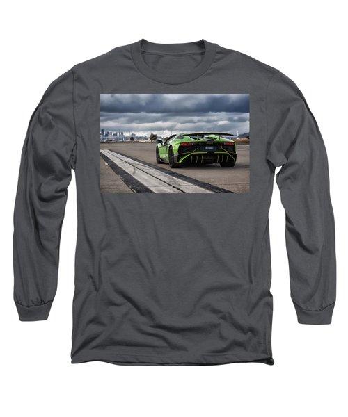 #lamborghini #aventadorsv #superveloce #roadster Long Sleeve T-Shirt