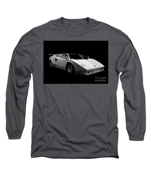 Lamborghini Countach 5000 Qv 25th Anniversary Long Sleeve T-Shirt