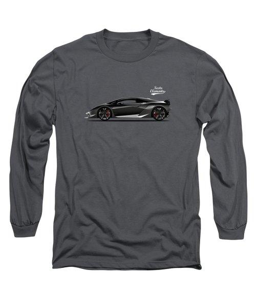 Lamborghini Sesto Elemento Long Sleeve T-Shirt