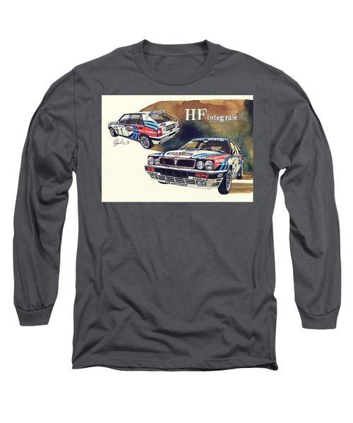 Lancia Delta Integrale Martini Long Sleeve T-Shirt