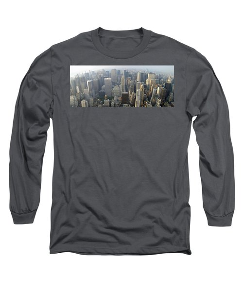 Land Of Skyscapers Long Sleeve T-Shirt