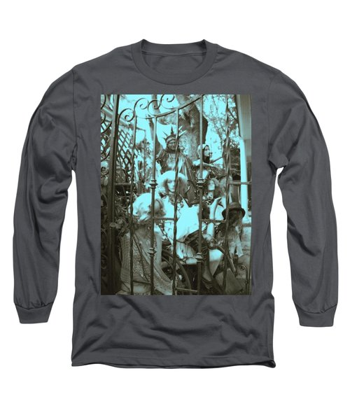America Land Of The Free Long Sleeve T-Shirt by Susan Carella