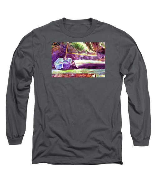 Landed Boats Long Sleeve T-Shirt