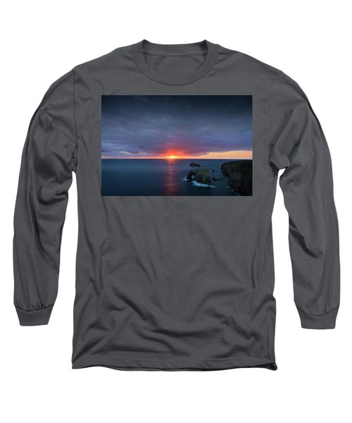 Land's End Long Sleeve T-Shirt by Dominique Dubied