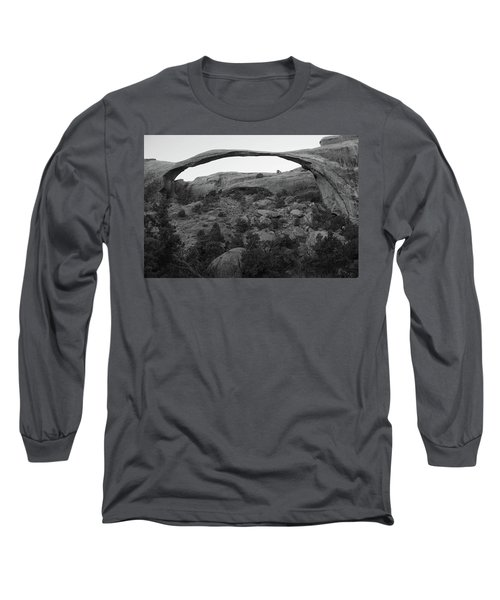 Landscape Arch Long Sleeve T-Shirt by Marie Leslie