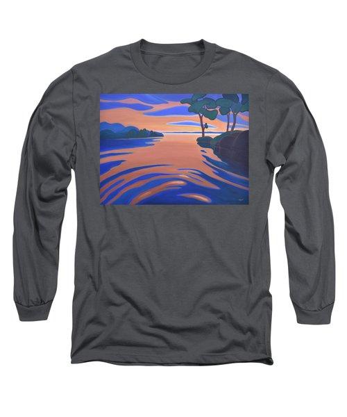 Languid Evening Long Sleeve T-Shirt