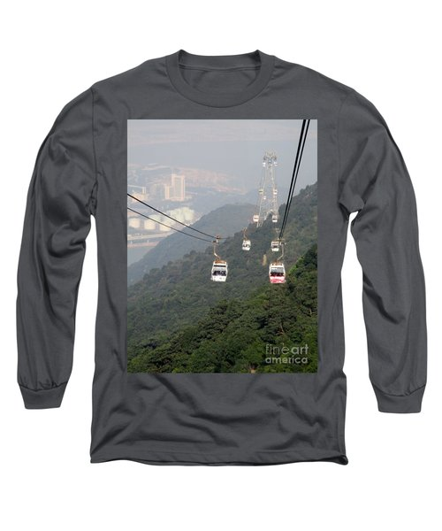 Long Sleeve T-Shirt featuring the photograph Lantau Island 53 by Randall Weidner