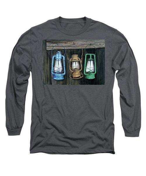 Lanterns Long Sleeve T-Shirt by Ferrel Cordle