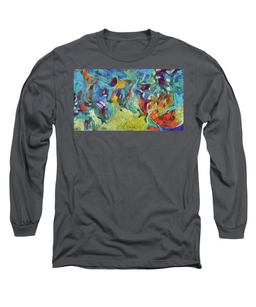 Lao Tzu Shows The Way Long Sleeve T-Shirt