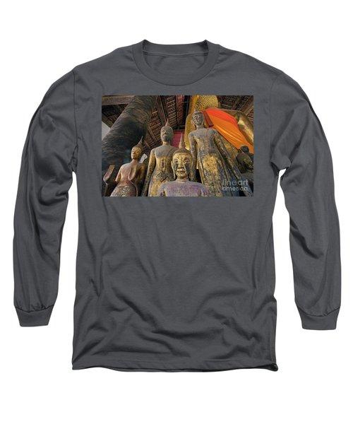 Long Sleeve T-Shirt featuring the photograph Laos_d186 by Craig Lovell