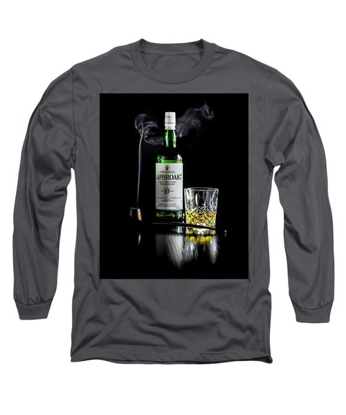 Whiskey And Smoke Long Sleeve T-Shirt