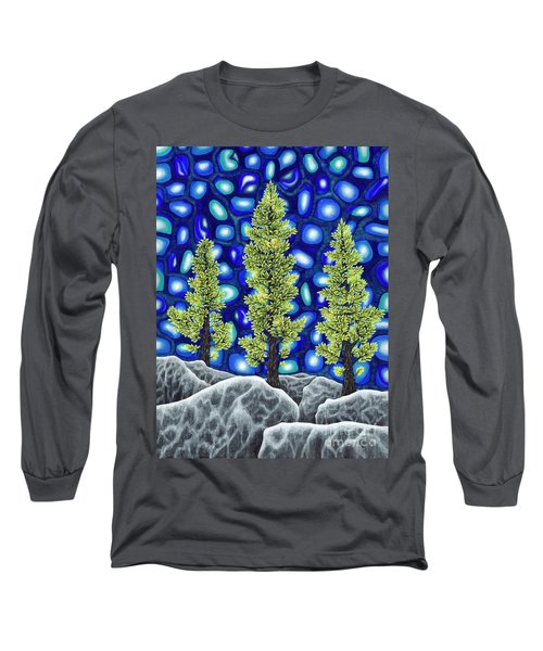 Larch Dreams 2 Long Sleeve T-Shirt by Rebecca Parker