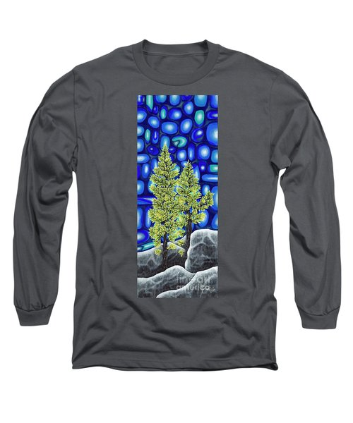 Larch Dreams 3 Long Sleeve T-Shirt by Rebecca Parker