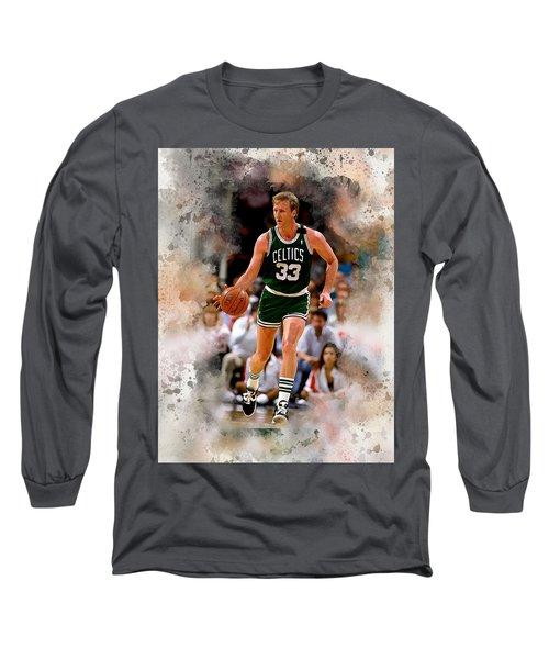 Larry Bird Long Sleeve T-Shirt