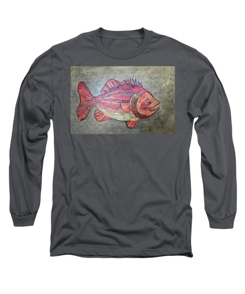 Larry Loud Mouth Long Sleeve T-Shirt