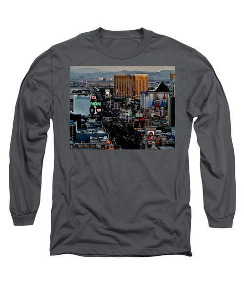 Las Vegas Strip Long Sleeve T-Shirt