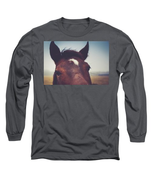 Long Sleeve T-Shirt featuring the photograph Lashes by Shane Holsclaw